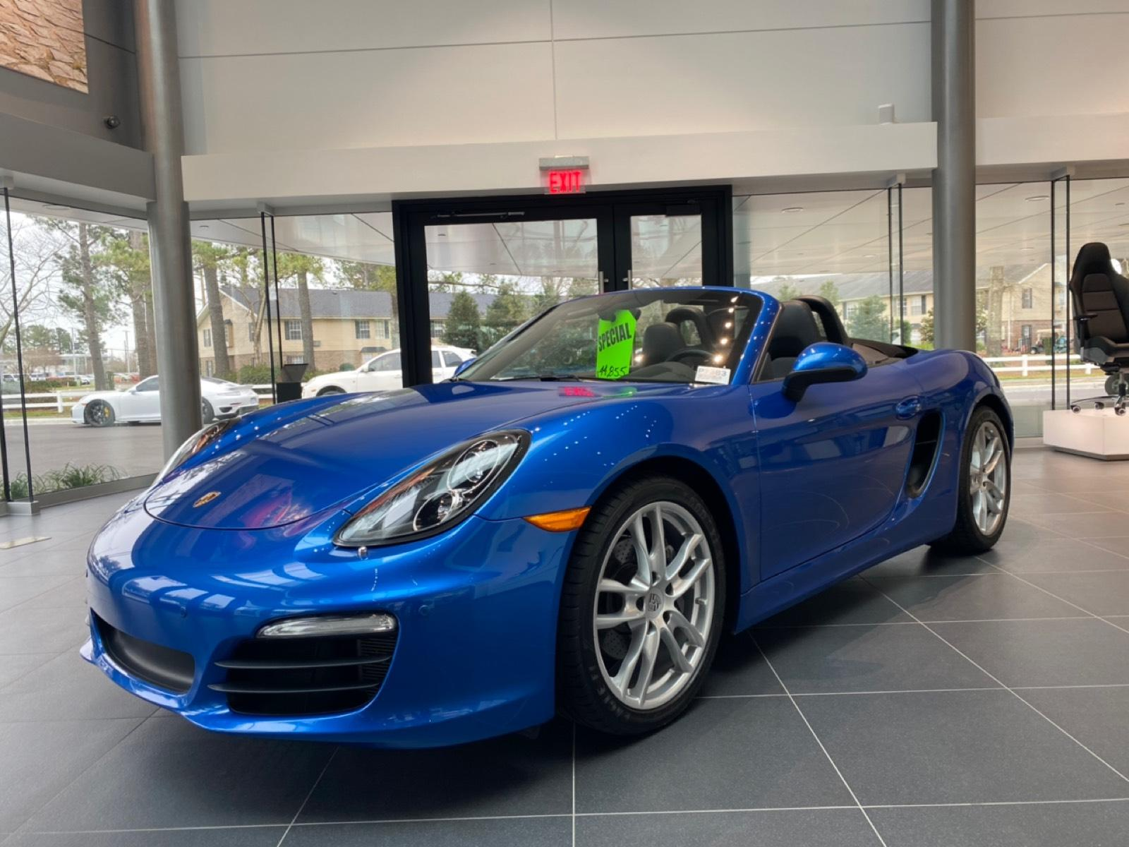 Pre-Owned 2015 Boxster