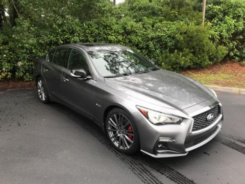 Pre-Owned 2018 INFINITI Q50 RED SPORT 400 RWD