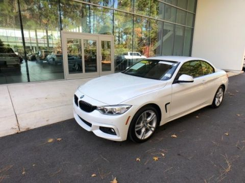 Pre-Owned 2017 BMW 4 Series 430i Convertible SULEV