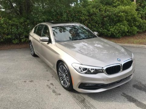Pre-Owned 2017 BMW 5 Series 530i Sedan