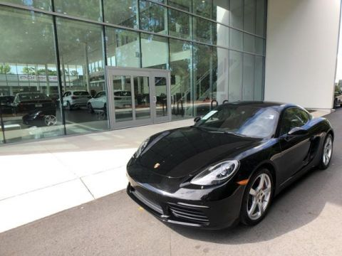 Pre-Owned 2017 Porsche 718 Cayman S Coupe