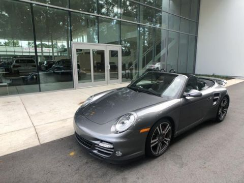 Certified Pre-Owned 2010 Porsche 911 2dr Cabriolet Turbo